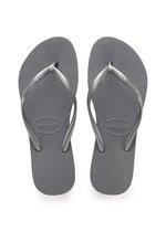 Havaianas Slim Dames Slippers - Steel Grey - Maat 37/38