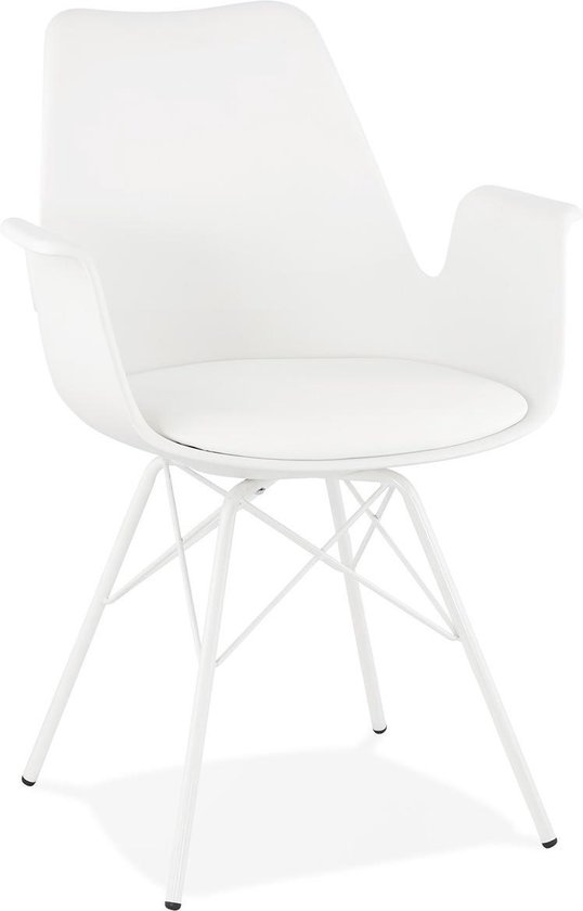 Witte Kunststof Design Stoelen.Bol Com Design Stoel Kokliko Wit Wit