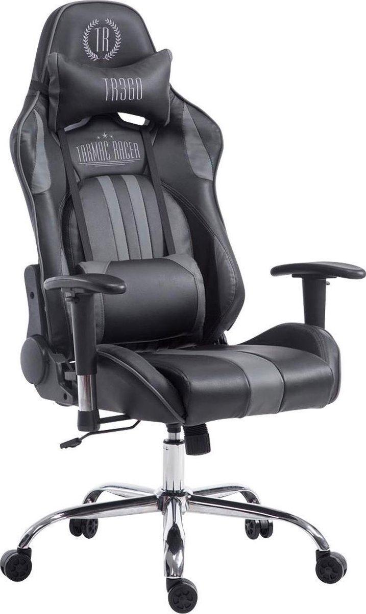 Clp Limit xl Bureaustoel - Kunstleer - Zwart / grijs - Zonder voetsteun