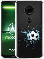Moto G7 Plus Hoesje Soccer Ball