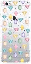 iPhone 6 Plus/6S Plus Hoesje Diamonds