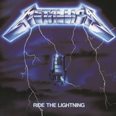 CD cover van Ride The Lightning (Remastered) van Metallica