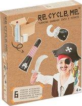 Re-cycle-me knutselpakket Piraten outfit