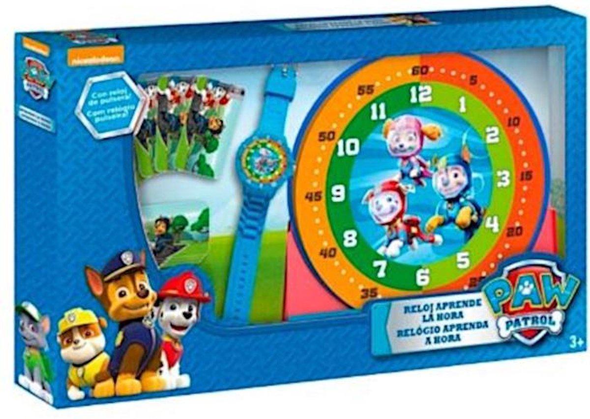 Nickelodeon Leerklok-set Paw Patrol Junior Rubber 3-delig