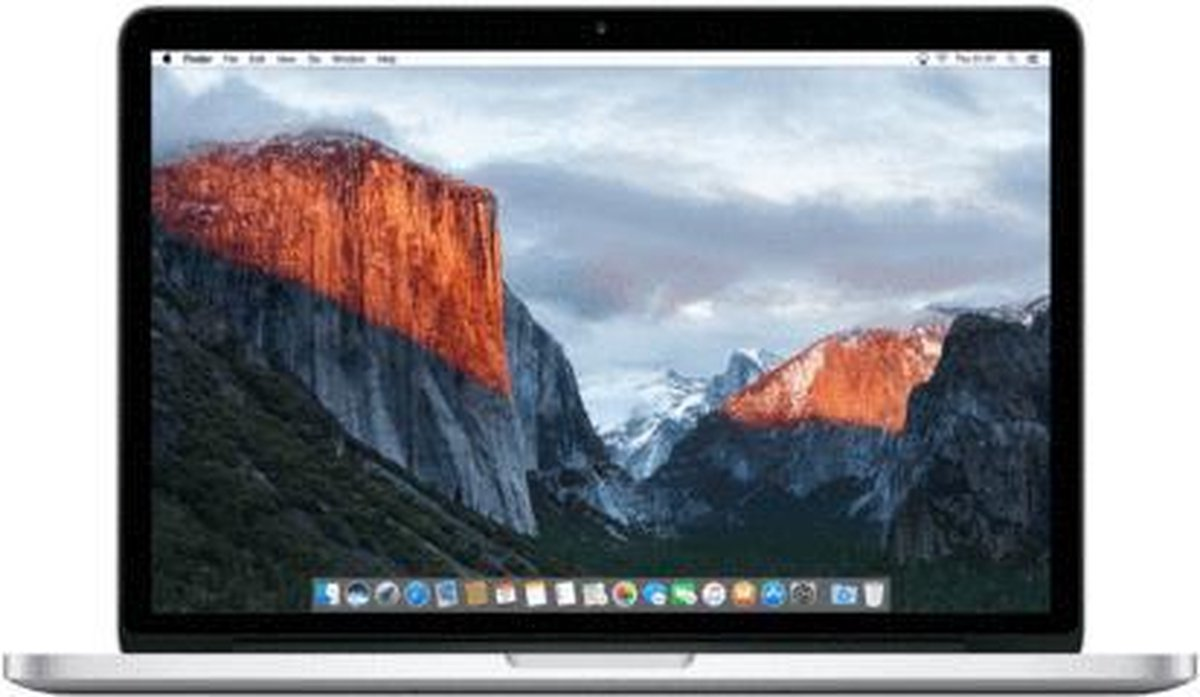 Apple MacBook Pro Retina (Refurbished) - 13.3 inch (33 cm) - Dual Core i5 2.7 - 8GB - 256GB SSD - MacOS 11 Big Sur - A-grade