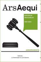 Ars Aequi Jurisprudentie  -   Jurisprudentie Burgerlijk Procesrecht 1983-2020