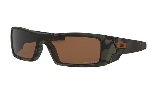 Sportbrillenshop - Oakley Gascan Matte Olive Camo / Prizm Tungsten Polarized - OO9014-5160