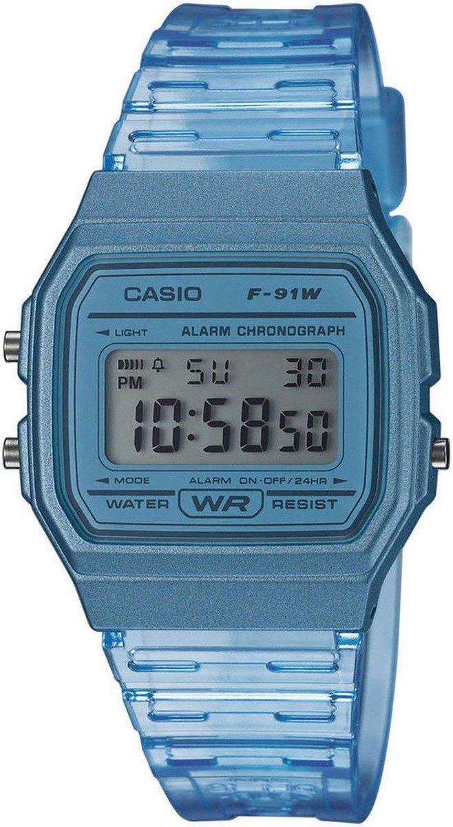 Casio Collection Dames Horloge F-91WS-2EF - 36 mm