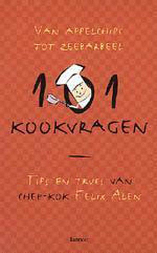 Cover van het boek '101 kookvragen' van F. Alen en Liesbeth Hobert