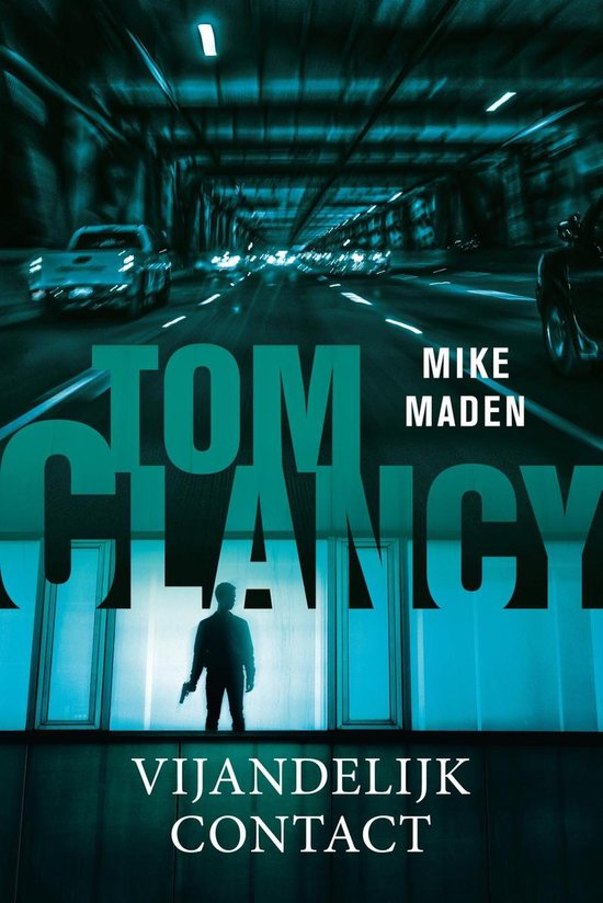 Boek cover Tom Clancy Vijandelijk contact van Mike Maden (Onbekend)