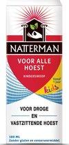 Natterman Voor Alle Hoest Kindersiroop - Hoestdrank voor kinderen - 180 ml