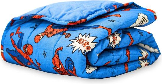 Rest Easy Sleep Better Verzwaringsdeken - 2 kg - Spiderman - 90x120