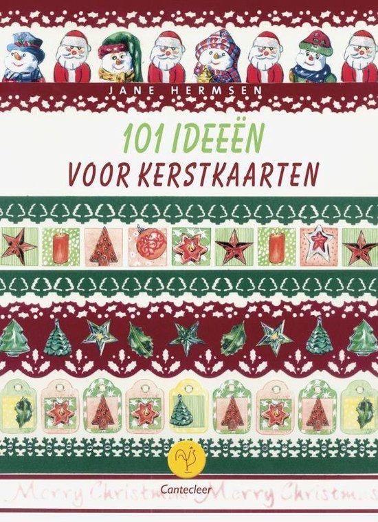 Cover van het boek '101 ideeen voor kerstkaarten' van H. Hermsen en Josée Hermsen