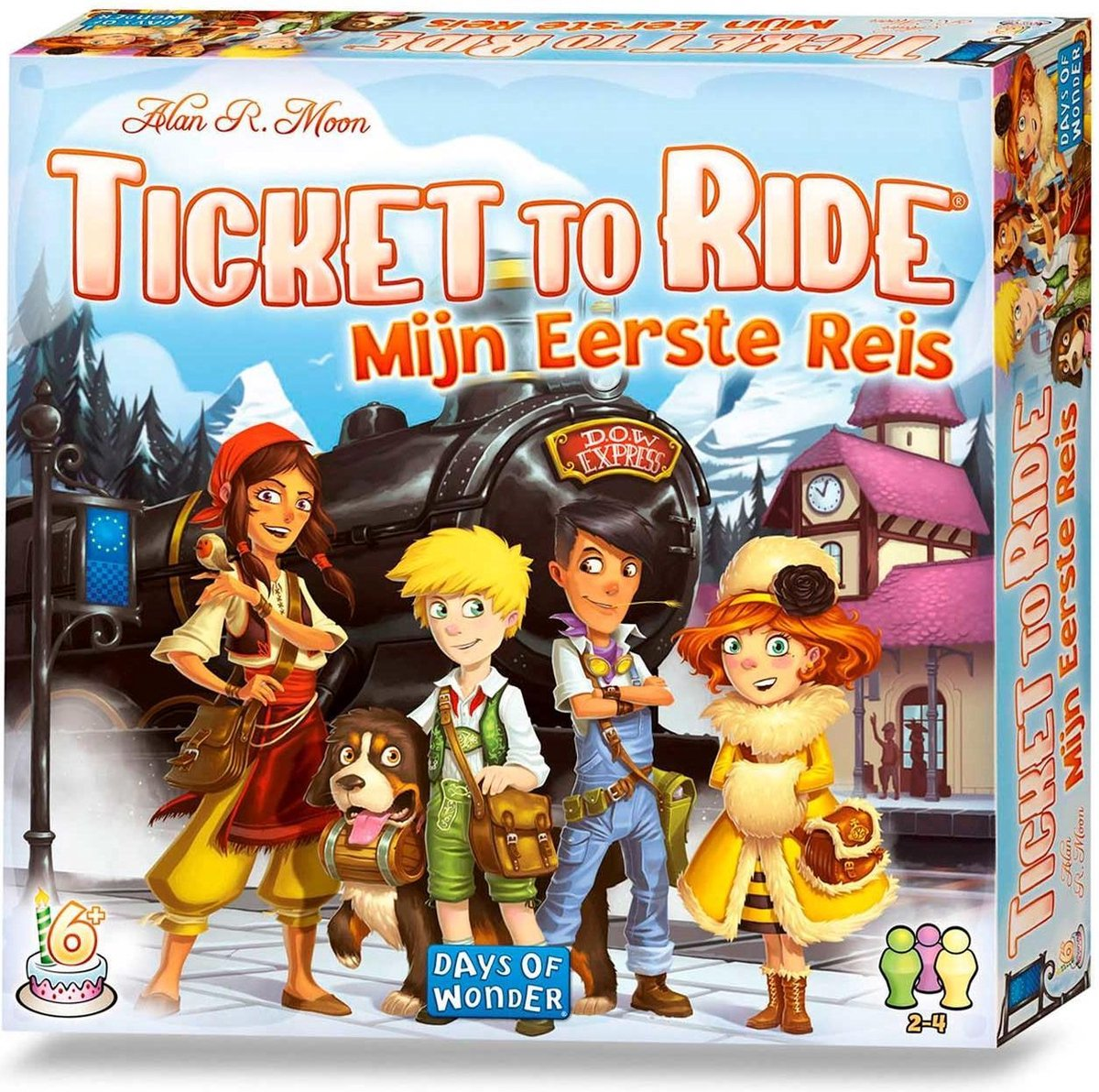 bol.com | Ticket to Ride Mijn Eerste Reis - Bordspel | Games