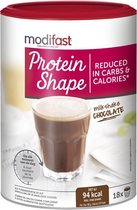 Modifast Protein Shape Milkshake Maaltijdvervanger - Chocolade - 540 gr