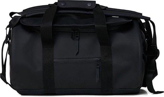 Rains Duffel Bag Small Unisex - One Size - Zwart