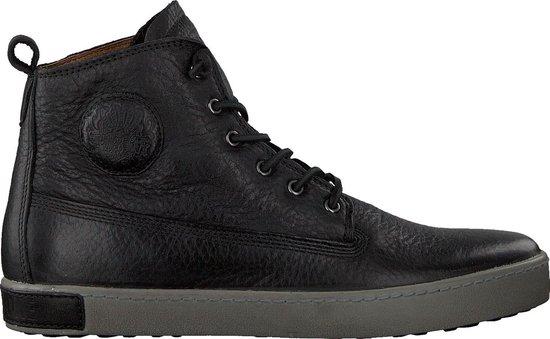 Blackstone Heren Hoge sneakers Am02 - Zwart - Maat 43