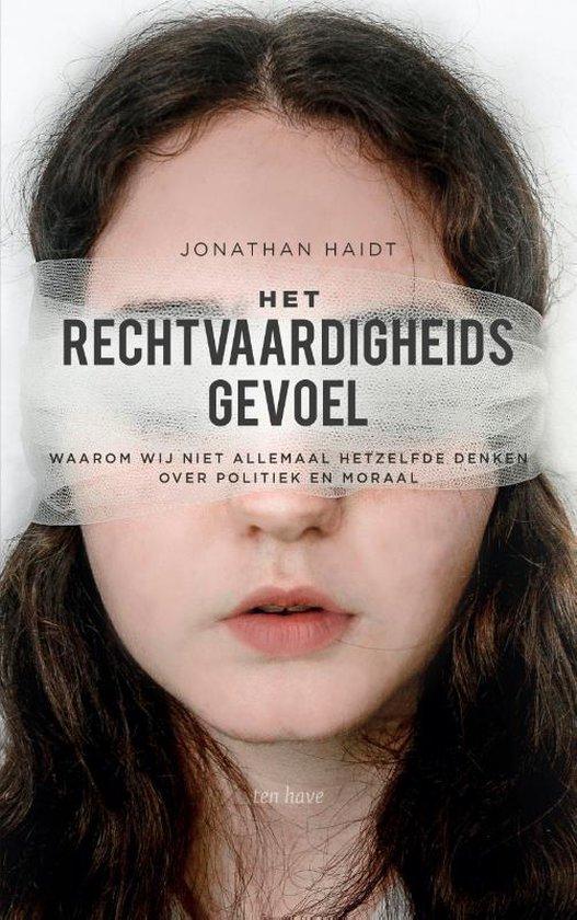 Boek cover Het rechtvaardigheidsgevoel van Jonathan Haidt (Paperback)