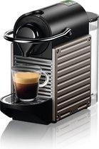 Krups Nespresso Pixie XN304T10 - Koffiecupmachine - Titanium