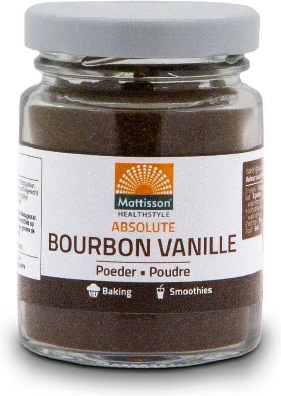Mattisson / Bourbon Vanilla Vanille Poeder - 30 gram