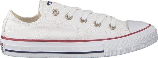 Converse Meisjes Sneakers Chuck Taylor All Star Ox Kids - Wit - Maat 32