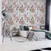 Fotobehang Vintage Pattern | VEA - 206cm x 275cm | 130gr/m2 Vlies