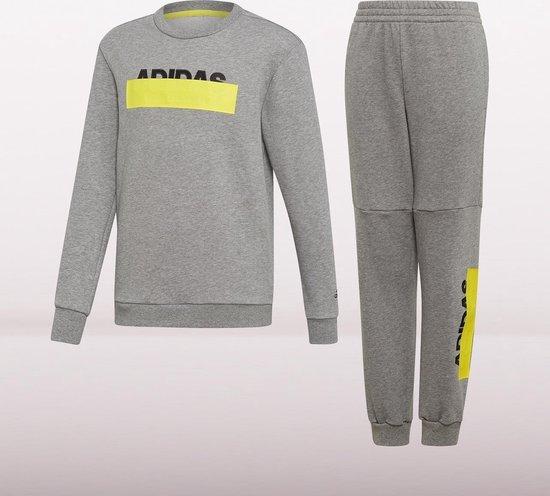 | adidas Joggingpak Junior Grijs Maat 176