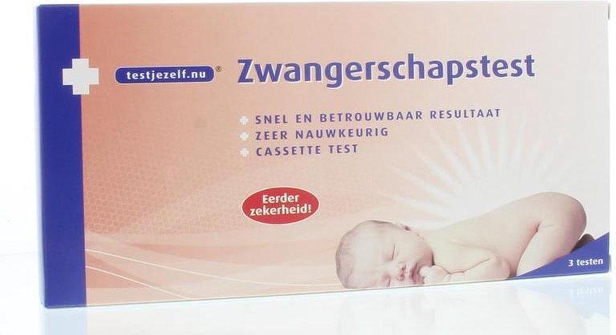 Testjezelf.nu - Zwangerschapstest Cassette - 2 stuks - Zwangerschapstest - Testjezelf.Nu
