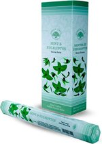 Green Tree Wierook Mint and Eucalyptus (6 pakjes)