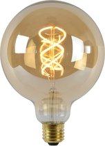 Lucide LED Bulb - Filament lamp - Ø 12,5 cm - LED Dimb. - E27 - 1x5W 2200K - Amber