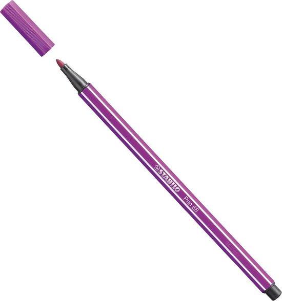 STABILO Pen 68 Viltstift Lila - per stuk