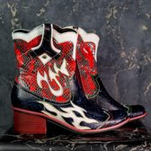 Laura Vita western boots blauw