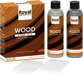 Oranje Matt Polish Wood Care Kit + Cleaner 2x250ml