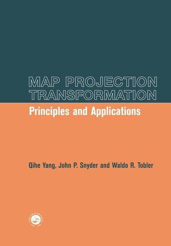 Boek cover Map Projection Transformation van Qihe Yang (Onbekend)