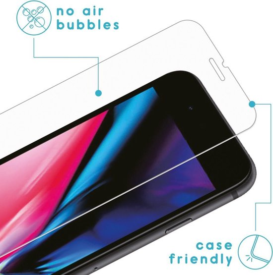 iMoshion Screenprotector iPhone SE (2020) Gehard Glas