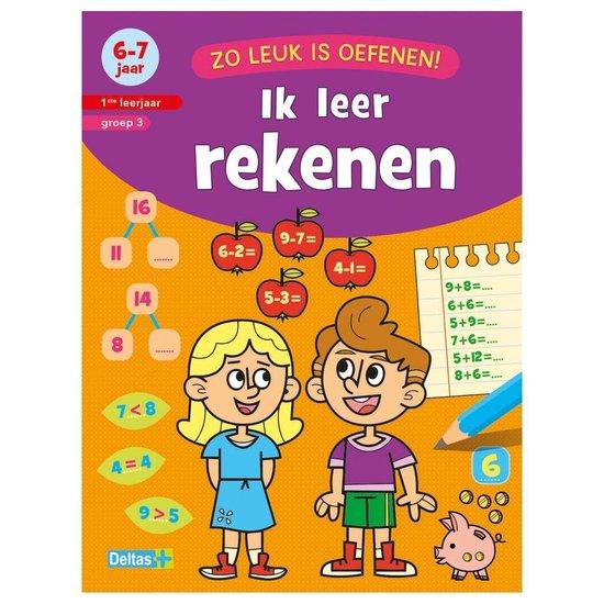 Boek Zo Leuk Is Oefenen Ik Leer Rekenen 6-7 Jaar
