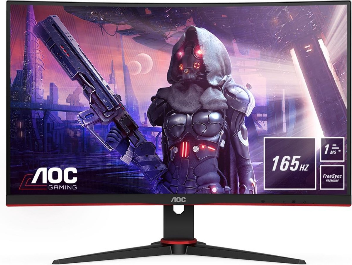 AOC C27G2AE - Curved Gaming Monitor - 165hz - 27 inch kopen