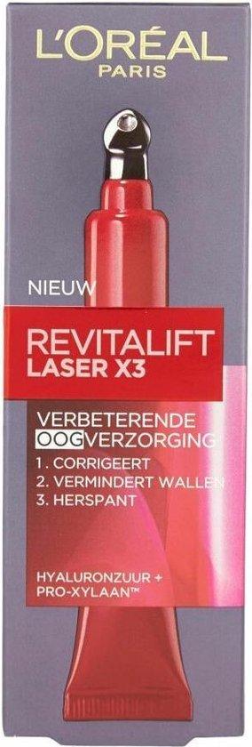 L'Oréal Paris Skin Expert Revitalift Laser X3 anti-rimpel oogcrème