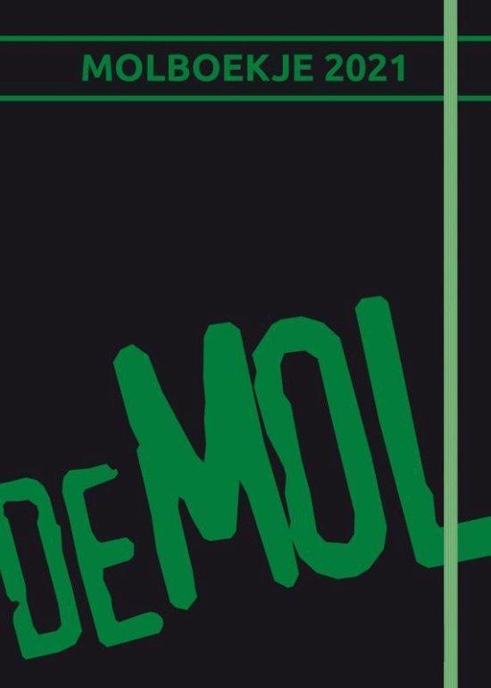 Wie is de Mol? molboekje jubileum