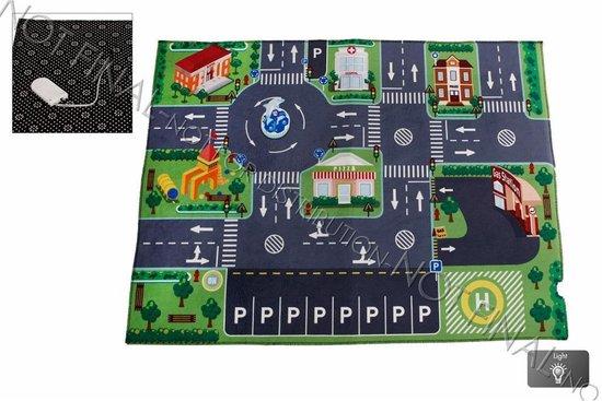 Afbeelding van Kids Globe - Speelkleed verkeer - incl LED verkeerslichten speelgoed