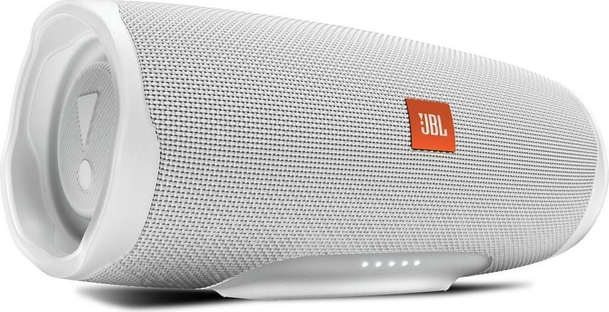 JBL Charge 4 Wit - Draagbare Bluetooth Speaker