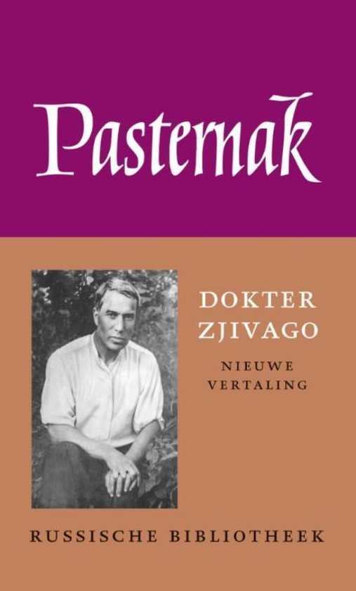 Boek cover De Russische bibliotheek  -   Dokter Zjivago van Boris Pasternak (Hardcover)