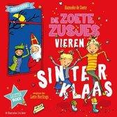 Omslag De zoete zusjes vieren Sinterklaas