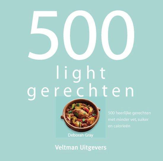 Boek cover 500 lightgerechten van Deborah Gray (Hardcover)