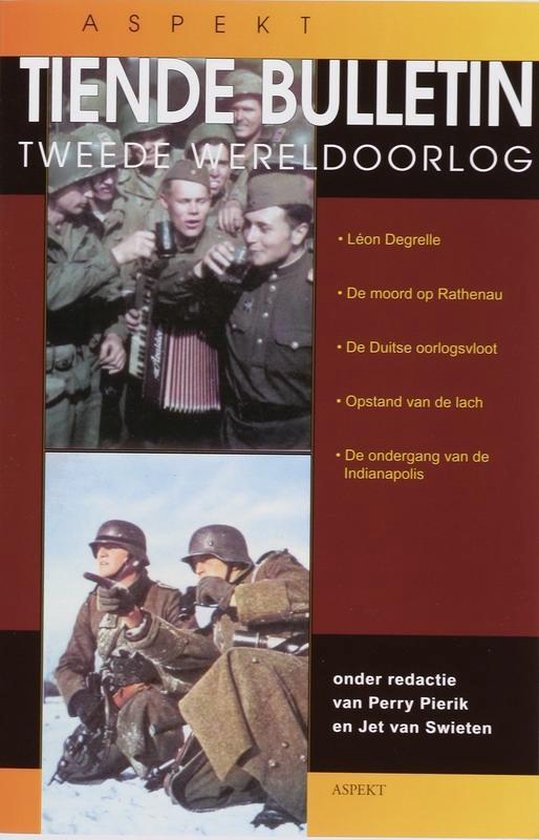 Cover van het boek '... Bulletin van de Tweede Wereldoorlog' van Perry Pierik