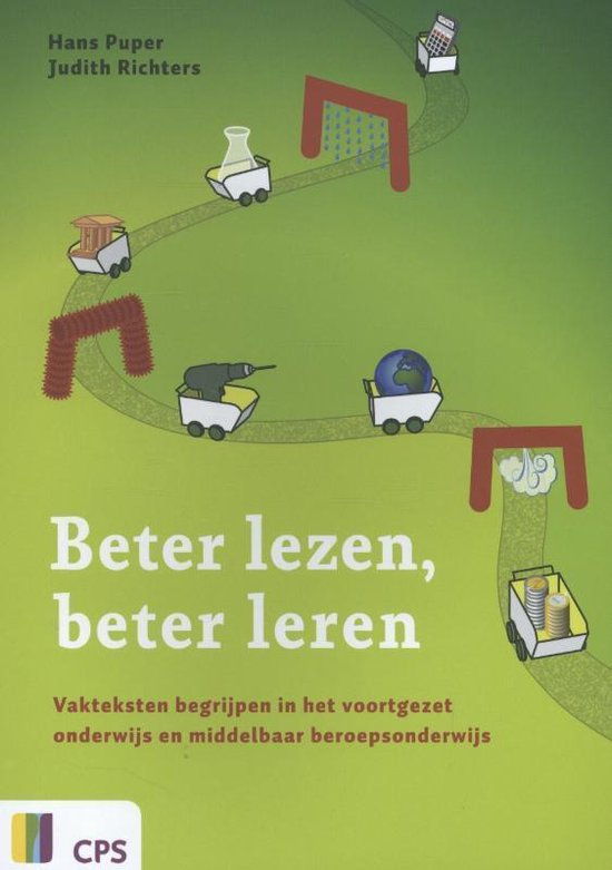 Boek cover Beter lezen beter leren van Hans Puper (Paperback)