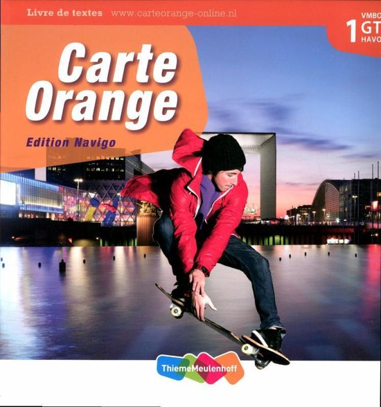 Boek cover Carte Orange 1 VMBO GT/Havo Tekstboek van Marjo Knop (Hardcover)