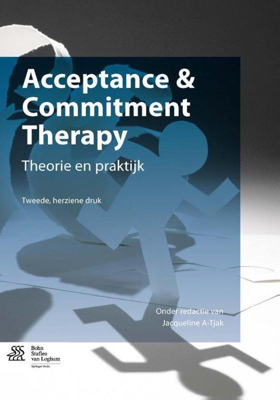 Boek cover Acceptance & commitment therapy van Jacqueline A-Tjak (Paperback)