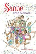 Boek cover Sanne waagt de sprong van Paula van Manen