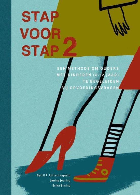 Boek cover Stap voor stap 2 6-12 jr van Bertil Uittenbogaard (Paperback)